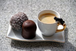 チョコレートを使ったコーヒーの作り方を紹介
